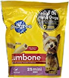 PEDIGREE JUMBONE Mini Dog Snacks, 15.87 oz.-25 ct.