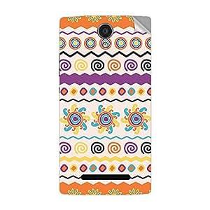 Garmor Designer Mobile Skin Sticker For OPPO R2017 - Mobile Sticker
