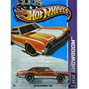 Hot Wheels 2012 Hw Showroom Orange 67 Oldsmobile 442 101/247 Muscle Mania Gm 12