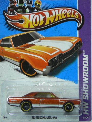 Hot Wheels 2012 Hw Showroom Orange '67 Oldsmobile 442 101/247 Muscle Mania Gm '12