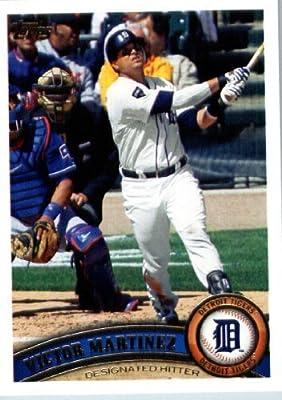 2011 Topps Update Series Baseball Card #US160 Victor Martinez - Detroit Tigers - MLB Trading Card