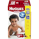 Huggies Snug and Dry Diapers, Size 3, 180 Count
