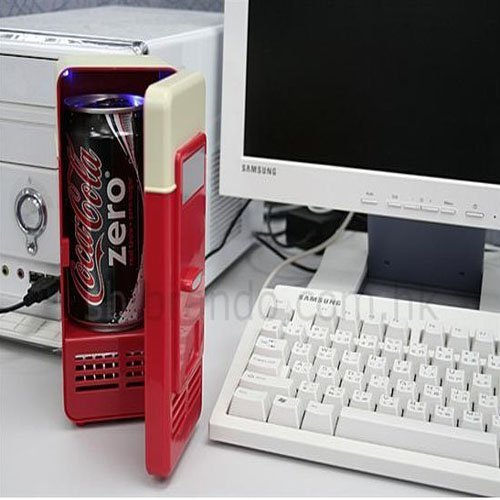 Buy Bargain Mini USB Fridge (RED)