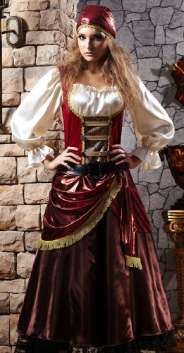 HGM Costume Women's Plus-Size Buccaneer Beauty