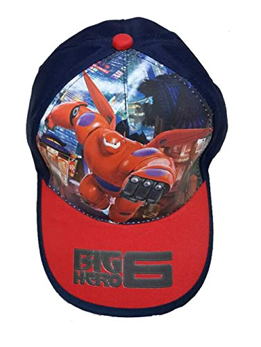 Big Hero 6 Baymax Cosplay Costume Hat Baseball Cap for Kids
