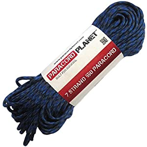 Paracord Planet 100' 550lb Type III Denim Paracord
