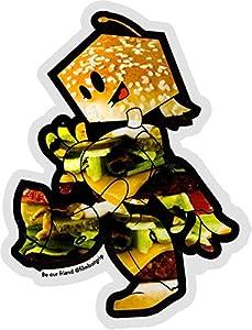 Filmbot Vice Burger Undercut Skate Sticker