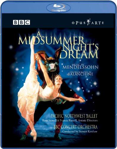 メンデルスゾーン作曲 夏の夜の夢 パシフィック・ノースウェスト・バレエ1999 [Blu-ray] [Import]