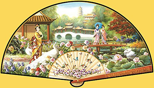 Japanese Garden a 1000-Piece Jigsaw Puzzle by Sunsout Inc.