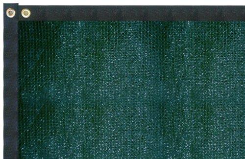 FenceScreen Brand 50' Green Windscreen Fence Screen Mesh Privacy Fabric Premium Fence Cover