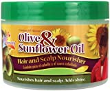 Olive & Sunflower Oil Hair & Scalp Nourisher by M&M Products Company