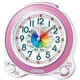SEIKO CLOCK(セイコークロック) 知育目覚まし時計(薄ピンク) KR887P