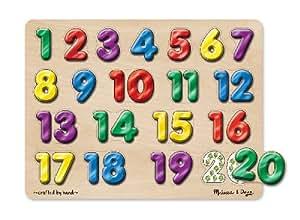 Melissa & Doug Melissa & Doug Spanish Numbers Sound Puzzle
