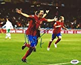 Autographed David Villa Photo - SPAIN 2010 WORLD CUP CHAMP 8x10 PSA DNA COA - Autographed Soccer Photos