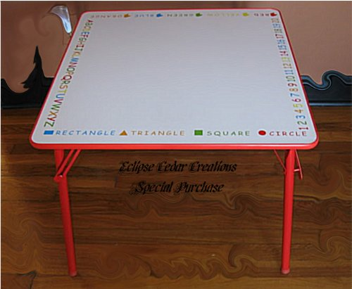 Buy Lilu0027 Kids Dry Erase Table For Children   Draw Right On Table Top    Erasable Now