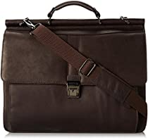 Kenneth Cole Reaction Rod Light Colombian Dowelrod Computer Briefcase in Brown