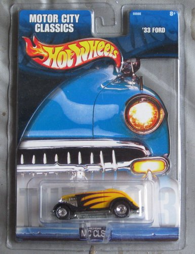 Hot Wheels Motor City Classics '33 Ford YELLOW