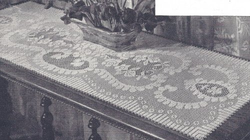 Free crochet patterns table runner | Order Now TOP Discount Free ...