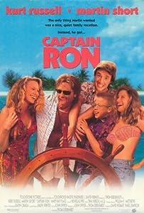 Captain Ron Movie Poster (27 x 40 Inches - 69cm x 102cm) (1992) -(Kurt Russell)(Martin Short)(Mary Kay Place)(Meadow Sisto)(Benjamin Salisbury)