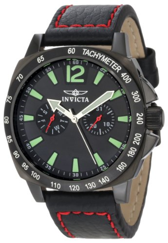 Invicta Men's 0857 II Collection Multi-Function Black Dial Watch