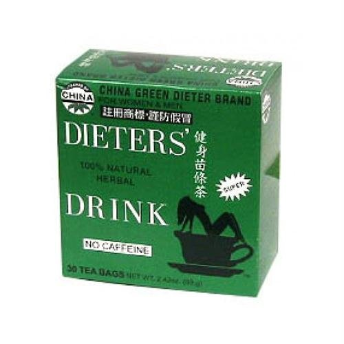 Uncle Lees Tea Dieters Tea For Weight Loss - 12 Bag