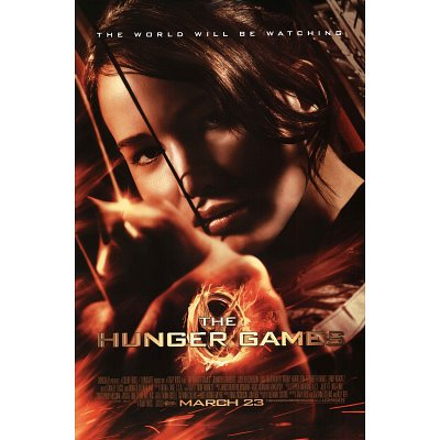 (24x36) The Hunger Games Katniss Movie Poster Poster Print, 24x36
