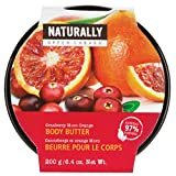 Upper Canada Naturally Body Butter Cranberry Moro Orange 6.4-Ounce