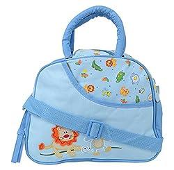 WonderKart Multi Purpose Baby Diaper Shoulder Bag - Blue