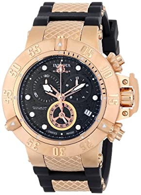 Invicta Men's 15803 Subaqua Analog Display Swiss Quartz Black Watch
