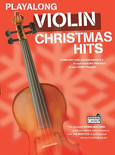 Playalong Christmas Hits -Violin Book & Download Card-: Christmas Hits - Violin