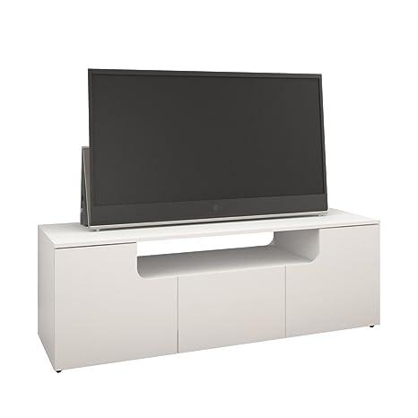 Nexera 600103 Arobas TV Stand, 60-Inch, White