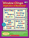 Window Clings Alphabet & Numbers!