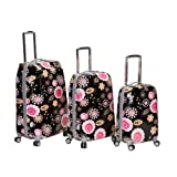 Rockland Luggage Vision Polycarbonate Three-Piece Luggage Set