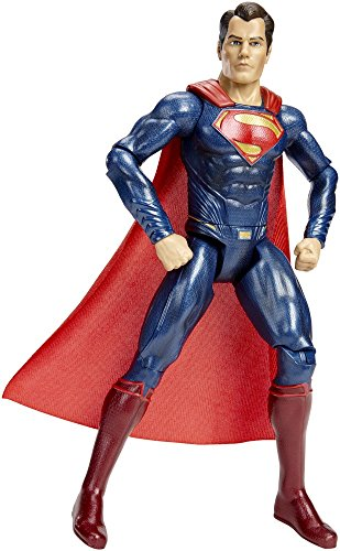 "Batman v Superman: Dawn of Justice Multiverse 12"" Movie Master Superman Figure at Gotham City Store"