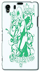 Timpax protective Armor Hard Bumper Back Case Cover. Multicolor printed on 3 Dimensional case with latest & finest graphic design art. Compatible with Sony L39H - Sony 39 Design No : TDZ-23984
