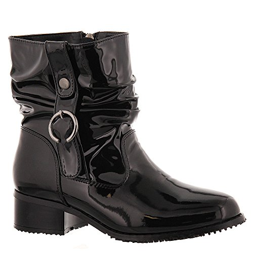 Beacon Drizzle Women's Boot 9 2A(N) US Black-Shiny