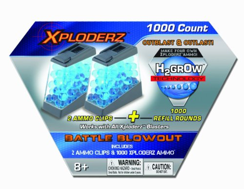Xploderz Ammo Battle Blowout