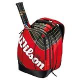 """Wilson Tennisrucksack BLX TEAM Backpack, rot/schwarz/gold, 34x48x25 cmvon """"Wilson"""""""