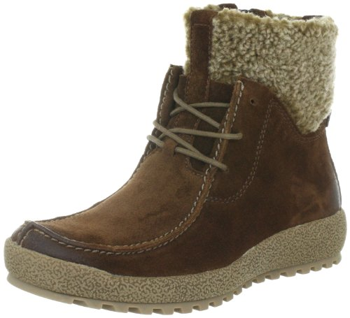 Camel active Ravenna 12 Ankle Boots Womens Brown Braun (tobacco) Size: 7 (41 EU)