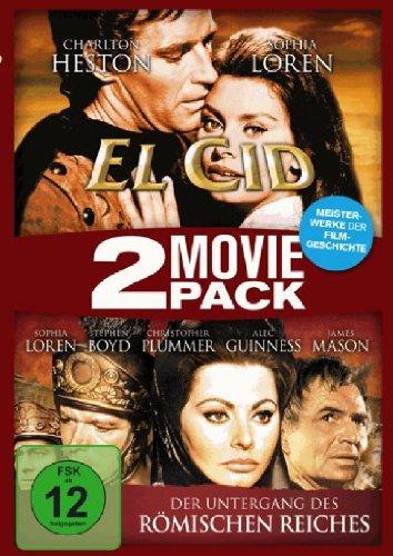 El Cid / Der Untergang des römischen Reiches - 2 Movie Pack