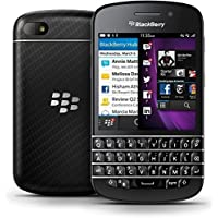 "New Imported BlackBerry Q10 16GB 2GB 3.1"" 8MP 2MP Black Smartphone-by Wellcare"