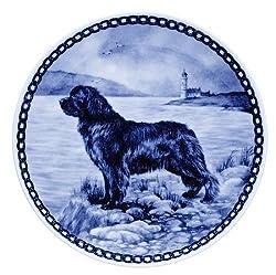 Newfoundland: Danish Blue Porcelain Plate