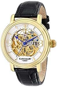 Thomas Earnshaw Men's ES-8011-04 Longcase Analog Display Automatic Self Wind Black Watch
