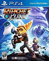 Dealingames Ratchet & Clank And Free Key Chain Of PS4 Remote Look PS4