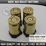 Xbox 360 Bullet Buttons - ABXY 9mm Real Bullet buttons from Games Base