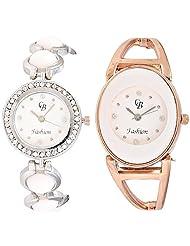 CB Fashion Combo Of Analog Multicolour Dial Women's Watch (RW149)