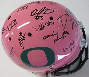 2013 Oregon Ducks Team, Signed, Autographed, Custom Schutt Full Size Helmet, a Coa... by Coast+to+Coast+Collectibles
