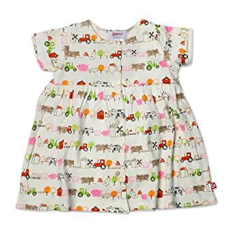 Amazon Zutano Baby Girls Little Farm Organic Short