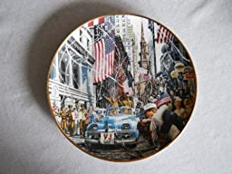 VJ Day Collector Plate By the Franklin Mint