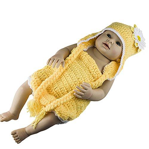 Foto-shooting Meerjungfrau Kostüm Strick Kleid Baby Kinder Häkeln (45)